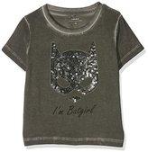 Name It Girl's NITBATMAN GRY SS TOP NMT WAB T-Shirt