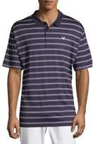 Callaway Ventilated Stripe Polo