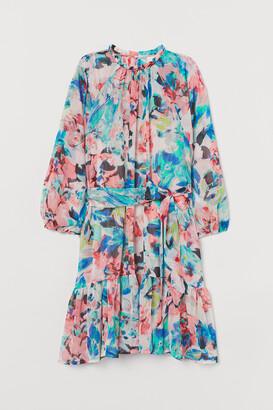 H&M Short Chiffon Dress