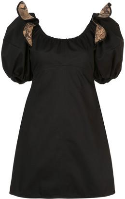 Ellery puff sleeve dress