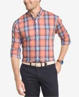 Izod Men's Advantage Performance UPF 15+ Plaid Shirt