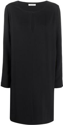 The Row Silk Shift Dress