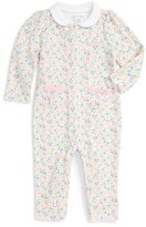 Ralph Lauren Infant Girl's Floral Print Romper