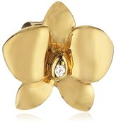 story. Women's Charm 925 Sterling Silver Gold-Plated Zirconia 5208753