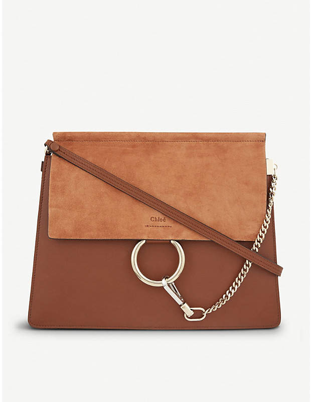 Chloé Faye medium leather satchel