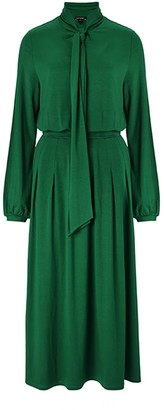 Baukjen Cosette Dress In Bright Emerald