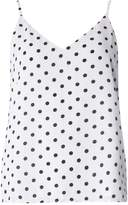 Only **Only White Polka Camisole Top