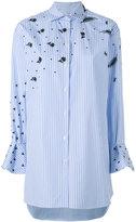 Valentino flared sleeve shirt - women - Cotton/Polyester - 40