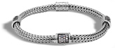 John Hardy Classic Chain Bracelet with Black Sapphire