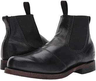 Frye Prison Yard Boot (Black Full Grain Pull Up) Men's Lace-up Boots