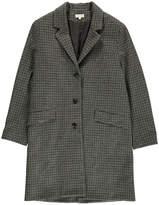soeur Axelle Wool Checked Coat