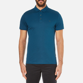 Michael Kors Sleek Mk Polo Shirt Pacific Blue