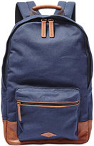 Fossil Estate Canvas Backpack