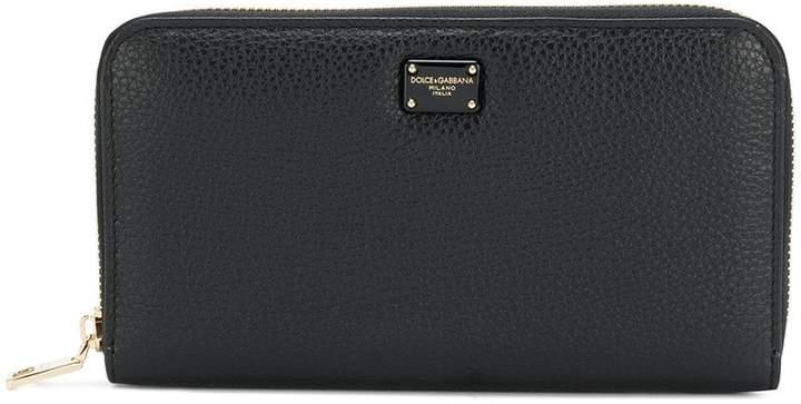 Dolce & Gabbana Continental zip-around wallet