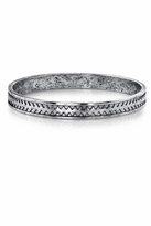 Low Luv x Erin Wasson by Erin Wasson Zig Zag Bangle in Silver