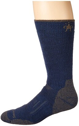 Smartwool PhD Outdoor Heavy Crew (Black) Men's Crew Cut Socks Shoes