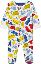 Joules Multi-Colour Car Print Babygrow
