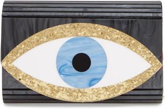 Eye Acrylic Party Clutch