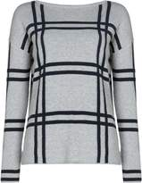 Barbour Munro Knit Jumper With Large Tartan Pattern