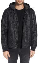 John Varvatos Lightweight Hooded Quilted Jacket