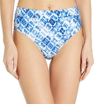 Splendid Women's Banded High Waist Swimsuit Bikini Bottom