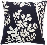 Judy Ross Textiles Bouquet Navy/Cream Pillow