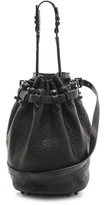 Alexander Wang Diego Bucket Bag with Black Hardware