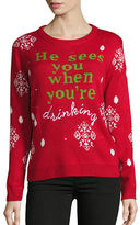 Context Text Graphic Christmas Sweater