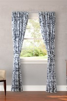 Laura Ashley Amberley Black Curtain - Set of 2