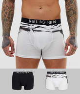 Religion mens tigerskull trunk 2 pack
