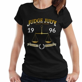 Cloud City 7 Judge Judy School of Law Women's T-Shirt Black