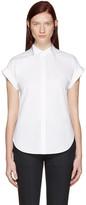 Rag & Bone White Ara Tie Back Shirt