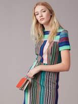Diane von Furstenberg Short-Sleeve Tailored Dress