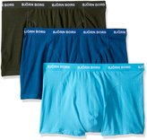 Bjorn Borg Men's 3-Pack Seasonal Solids Boxer Brief