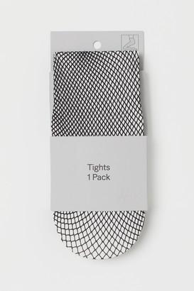 H&M Glittery Fishnet Tights