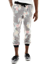 JCPenney NOVELTY SEASON Tropical Storm Printed Jogger Pants