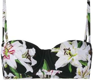 Dolce & Gabbana lily balconette bikini top