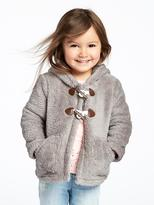 Old Navy Hooded Sherpa Coat for Toddler