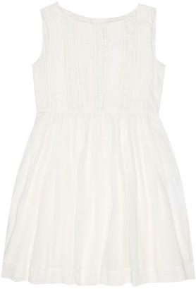 Bonpoint Alina cotton-voile dress