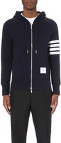 Thom Browne Striped cotton-jersey hoody