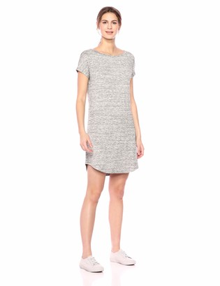 Daily Ritual Amazon Brand Women's Supersoft Terry Dolman-Sleeve Boat-Neck Dress