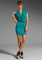 Splendid Drape Mini Dress
