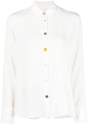 Paul Smith Decorative-Button Long-Sleeved Shirt