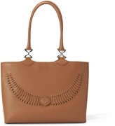 Yiy Wave Working Bag & Tote Personalizable In Lion Brown