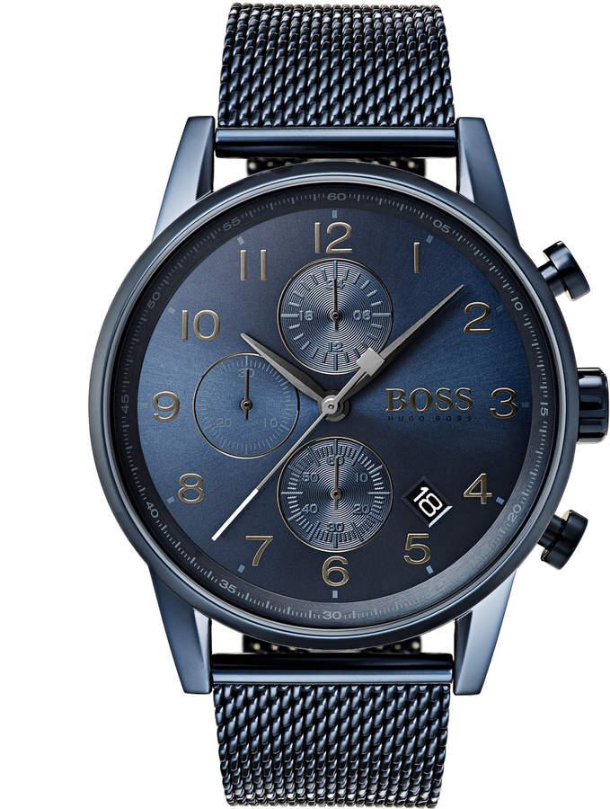 HUGO BOSS Navigator Watch Blue