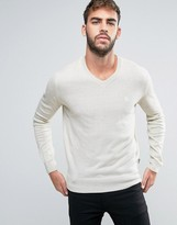 French Connection V Neck Knitted Sweater