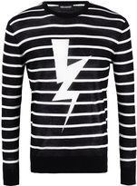 Neil Barrett lightning jumper - men - Cotton - M