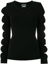 Moschino cut-out bow jumper - women - Polyester/Rayon - 40