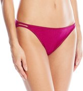 Vanity Fair Women's Body Shine Illumination String Bikini Panty 18108