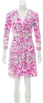 Emilio Pucci Silk Long Sleeve Dress